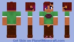 Sweet J Minecraft Skin