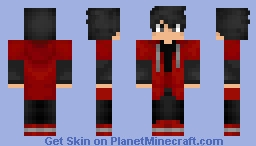 The Red Hood Minecraft Skin