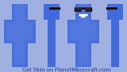 Blue From Foster's Home (Request) Minecraft Skin