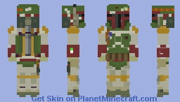 Star Wars: Boba Fett Minecraft Skin