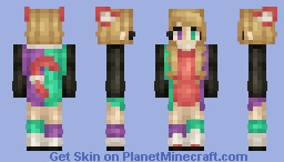 Maybe I'm just in denial Minecraft Skin