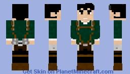 Bertolt hoover | AOT Minecraft Skin