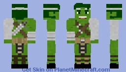 World War Hulk | Marvel Minecraft Skin