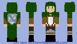 Armin Arlert | AOT Minecraft Skin