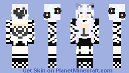 I attempted a skin .-. again  Eh not good Pastel Goth sorry Minecraft Skin