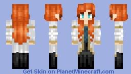 Beverly Crusher (Fanskin) Minecraft Skin
