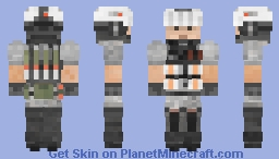 (Eurasia Skin) TITANFALL 2 - IMC / Interstellar Manufacturing Corporation Heavy Weapons Grunt Minecraft Skin