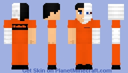 Two Face Inmate Minecraft Skin