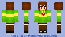 Chara UNDERTALE Minecraft Skin