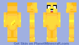 Inieloo | Jake - Adventure Time Minecraft Skin