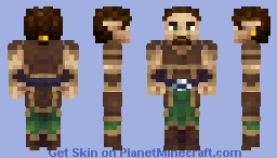 Wood Elf Minecraft Skin