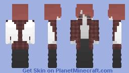 Paix the Half Demon Minecraft Skin