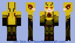 Reverse Flash - The Flash (CW) Minecraft Skin