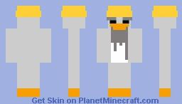 Sensei - Club Penguin Minecraft Skin