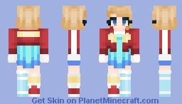 Run - My B-Day! - 1 Year Anniversary Minecraft Skin