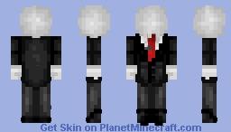 §ĺΞᏁÐЄR mᗋᏁ - Creepypasta Minecraft Skin