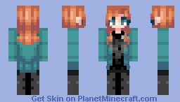 *мαηgℓє∂* Beverly Crusher - ST with Beverly (Fanskin) Minecraft Skin
