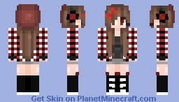 """☆𝓡𝓪𝓿𝓮𝓷𝓢𝓬𝓻𝓾𝓫𝓫𝓼☆ """"Who Said The What"""" Minecraft Skin"""