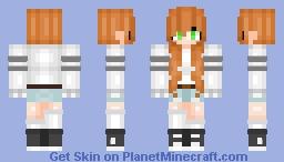 |𝓼𝓲𝓵𝓱𝓸𝓾𝓮𝓽𝓽𝓮| Rin Nanami [GIFT] Minecraft Skin