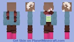 Undertale Mashup Skin! {I Am Naming them Triple Sticks} Minecraft Skin