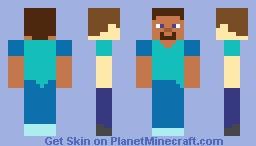 Plastic Steve Minecraft Skin