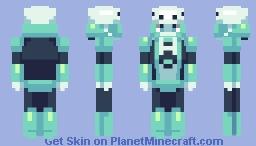 MegaMan Rock Force- Terror Man Minecraft Skin