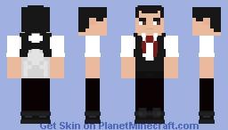 Alex Wassabi The Novelist Minecraft Skin