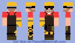 Enginer Skin Minecraft Skin