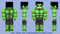 The Hulk (MCU) Minecraft Skin