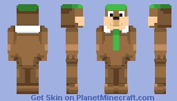 rndnlmtbg | Yogi Bear ~requested~ Minecraft Skin