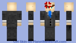 Angry Crime Boss Minecraft Skin