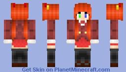 Asuna Kagurazaka - Negima V2 Minecraft Skin
