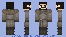 Jon Snow GoT S7E6 Minecraft Skin