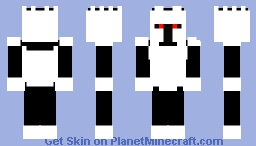 BLACK AND WHITE FIX Minecraft Skin