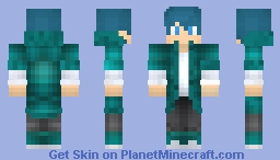 Blue Blooble Minecraft Skin