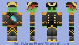 Slime Captain Minecraft Skin