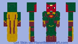 Vision | Age of Ultron Minecraft Skin