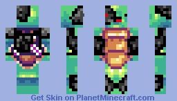 Derpy TurtleBorg Minecraft Skin