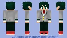 Deku (Boku no Hero Academia) (School Uniform) (1.8) Minecraft