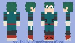 Izuku Midroyia (Deku) - My Hero Academia Minecraft Skin