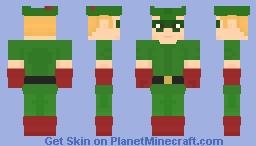 Green Arrow (Golden Age) Minecraft Skin