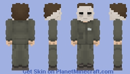 Michael Myers(Halloween) Minecraft Skin