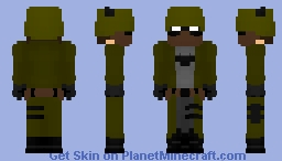 The Batman WWII Minecraft Skin