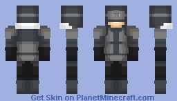 Captain Cold-injustice 2 Minecraft Skin