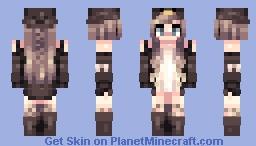 iS tHiS PeNGuIn CLub?? - OC Minecraft Skin