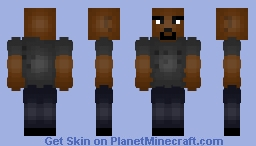 Marvel's Luke Cage [With Muscles] Minecraft Skin