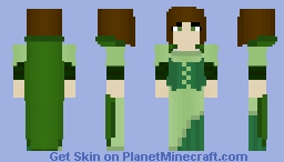 Marzi Brindlehall, Ranger of Emerald Glade {RP} ~Ὠκεαν~ Minecraft Skin