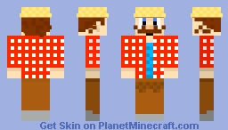 The Traveling Merchant! (Inspired from the old Seedlings Show.) Minecraft Skin