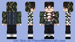 Hoodie AAPE Minecraft Skin