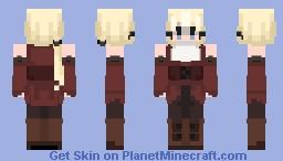 ST w/ _Kyoko_Kirigiri_ Minecraft Skin
